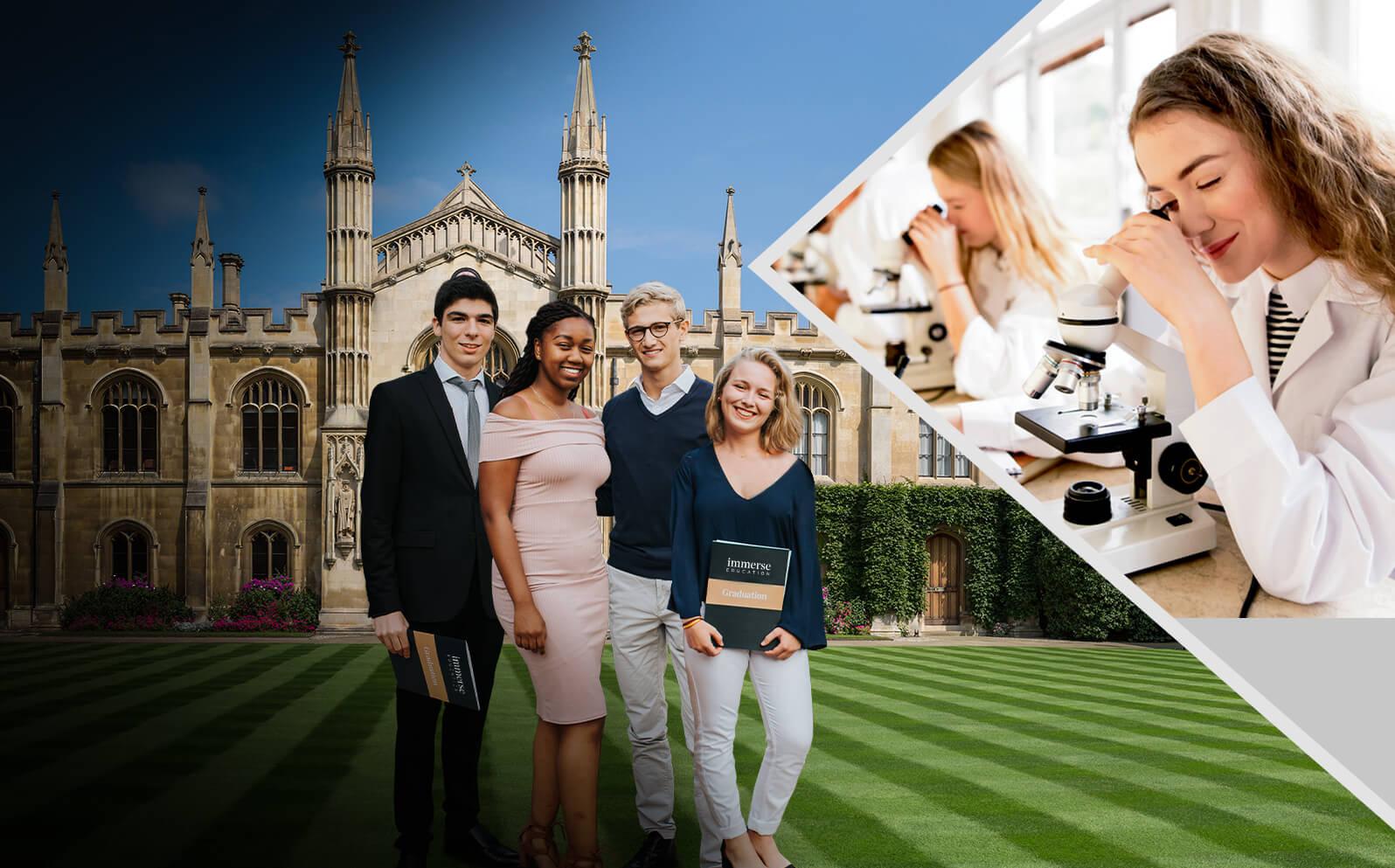 Cambridge Chemistry Summer Program for Ages 16-18