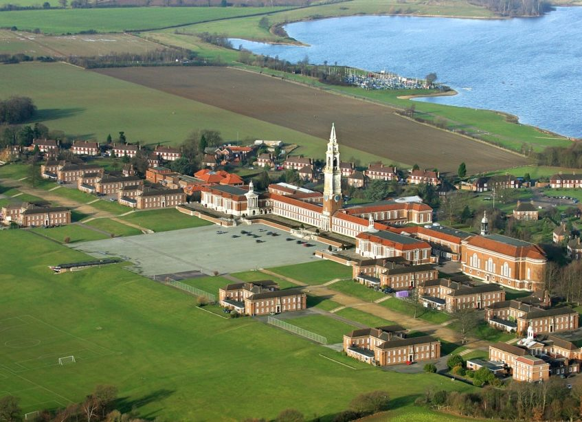 Royal Hospital School Aerial