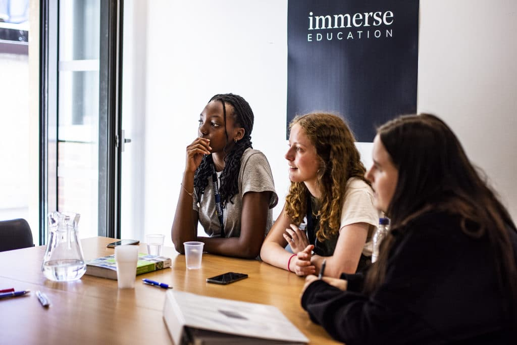 Immerse Education Students