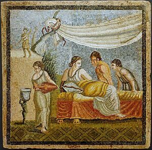 300px-Roman_mosaic-_Love_Scene_-_Centocelle_-_Rome_-_KHM_-_Vienna