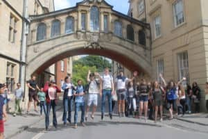 Jumping under the Bridge of Sighs