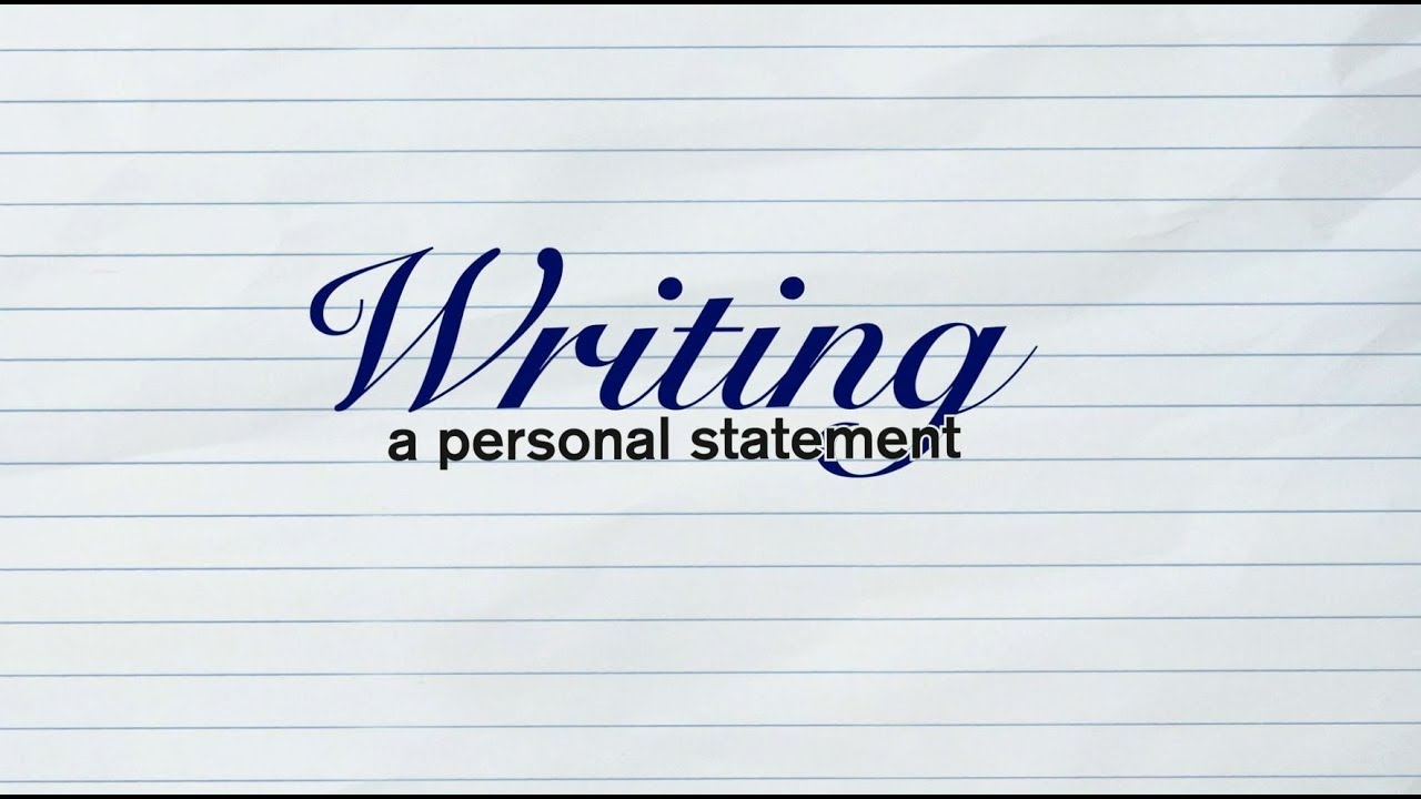Write a Great Personal Statement